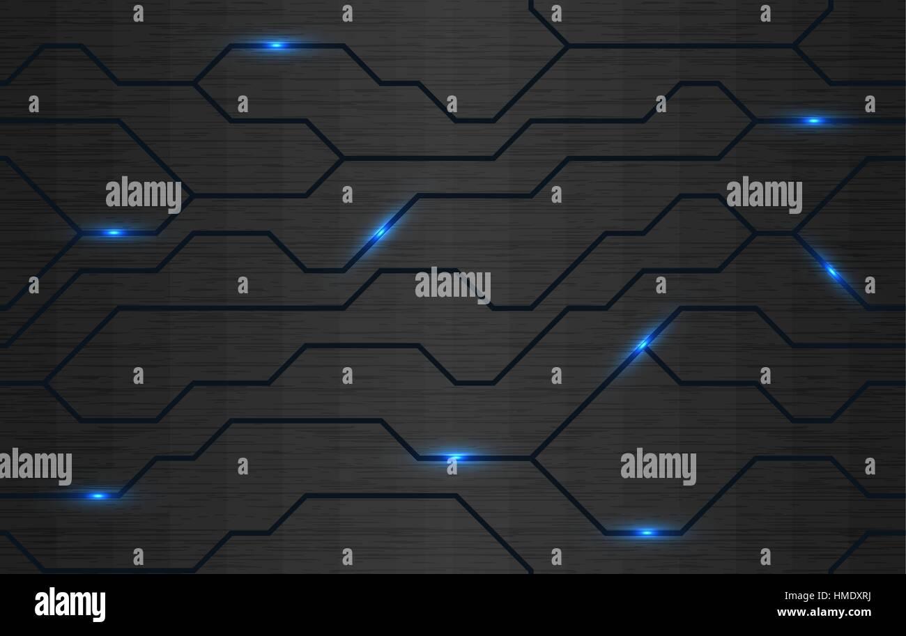 Free 3d Floor Plan Design Software Seamless Vector Futuristic Dark Iron Techno Texture Blue