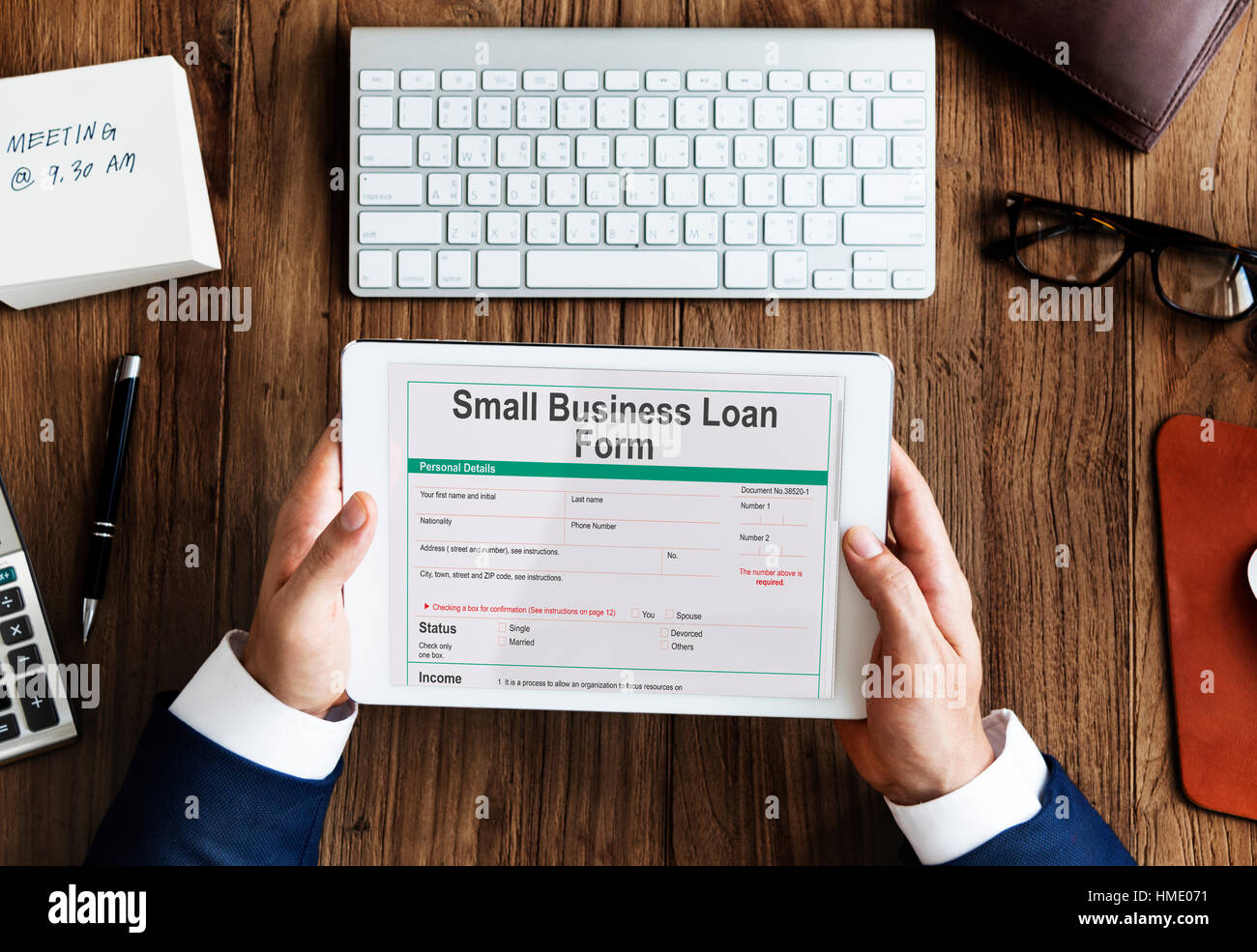 Small business loan form ownership concept stock photo 133073221 small business loan form ownership concept flashek Choice Image