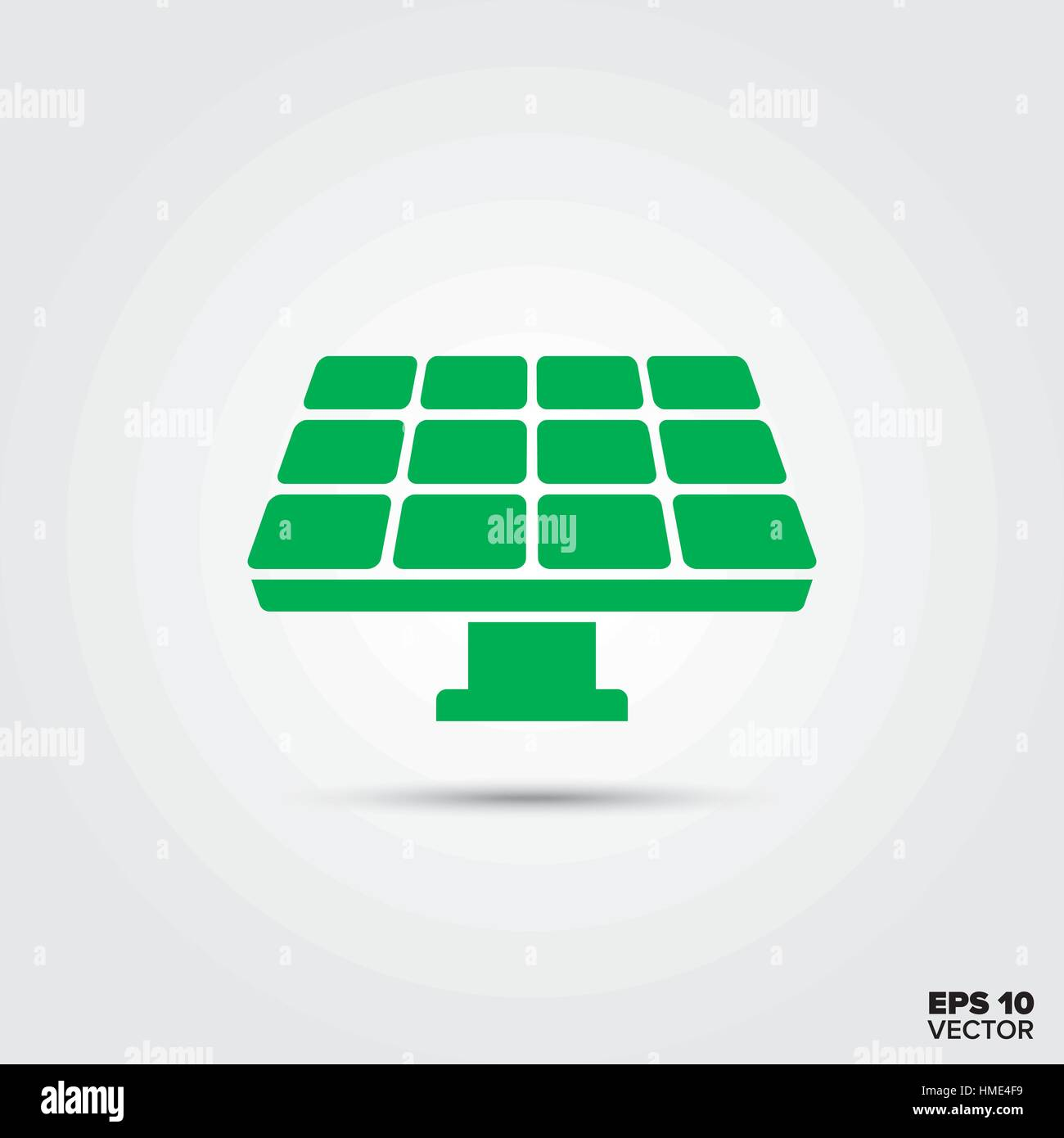 green solar panel vector icon sustainable energy symbol stock vector image art alamy alamy