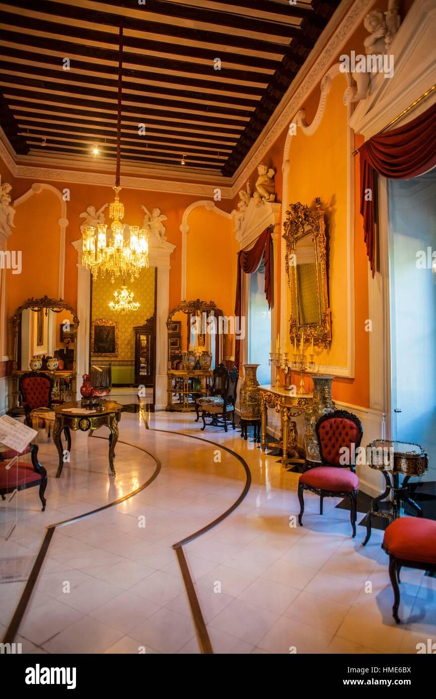 Casa de Montejo, Mérida, Yucatán, México. Stock Photo
