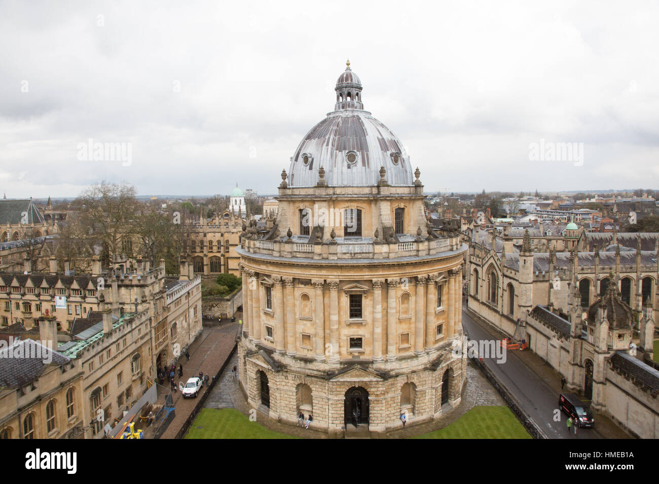 Bodleian Library exteriors Oxford University UK - Stock Image