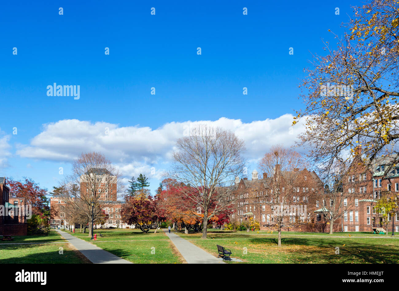 Vassar College, Poughkeepsie, New York State, USA - Stock Image