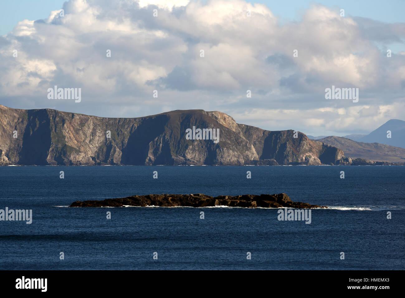 Achill Island West Coast - Ireland - Stock Image