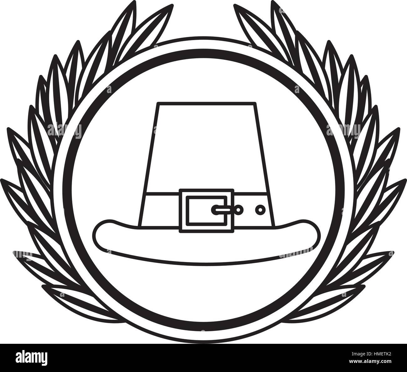 8e80c5fe6cb Irish elf hat icon vector illustration design - Stock Vector
