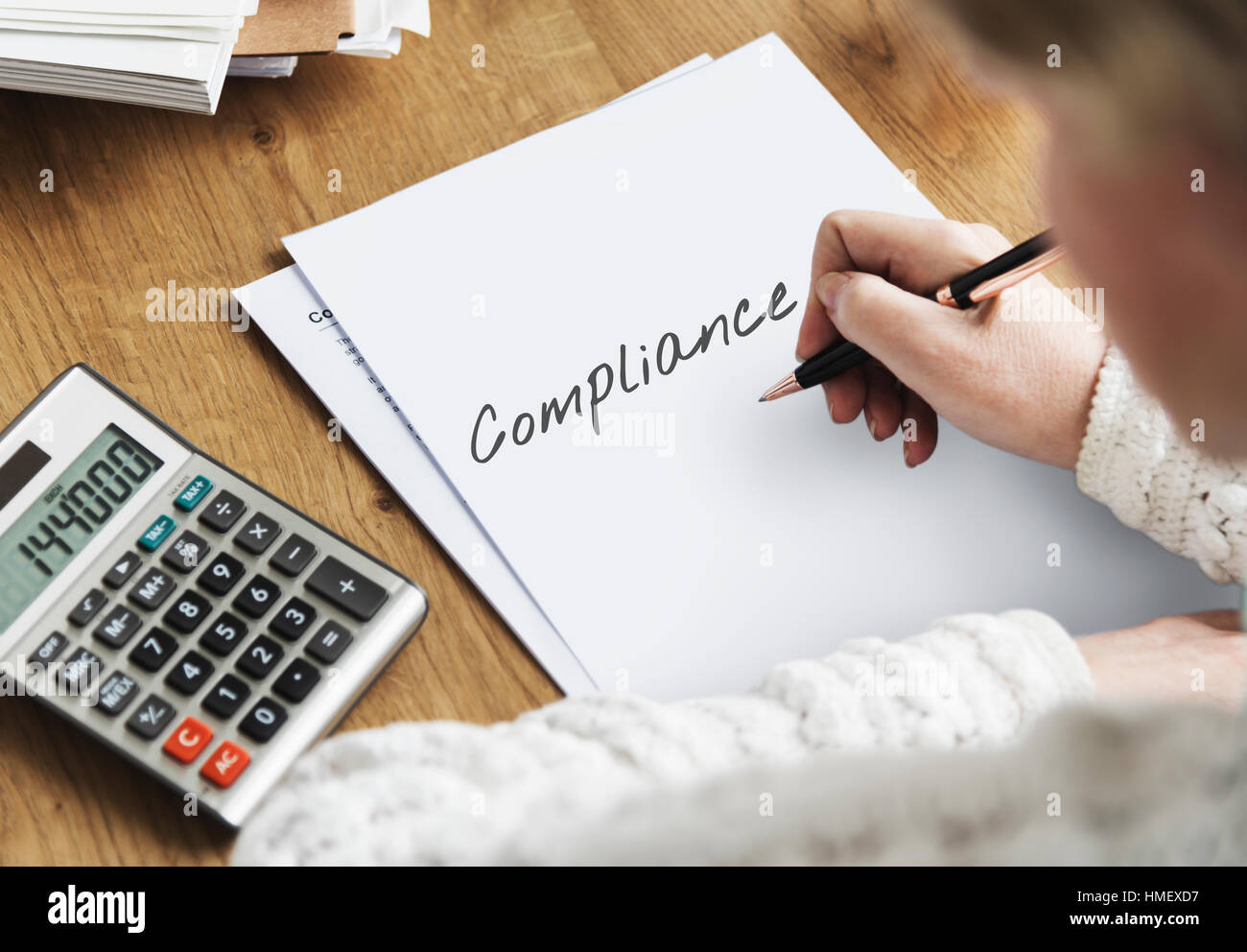 Compliance Policy Procedure Conformity Obedience Concept - Stock Image