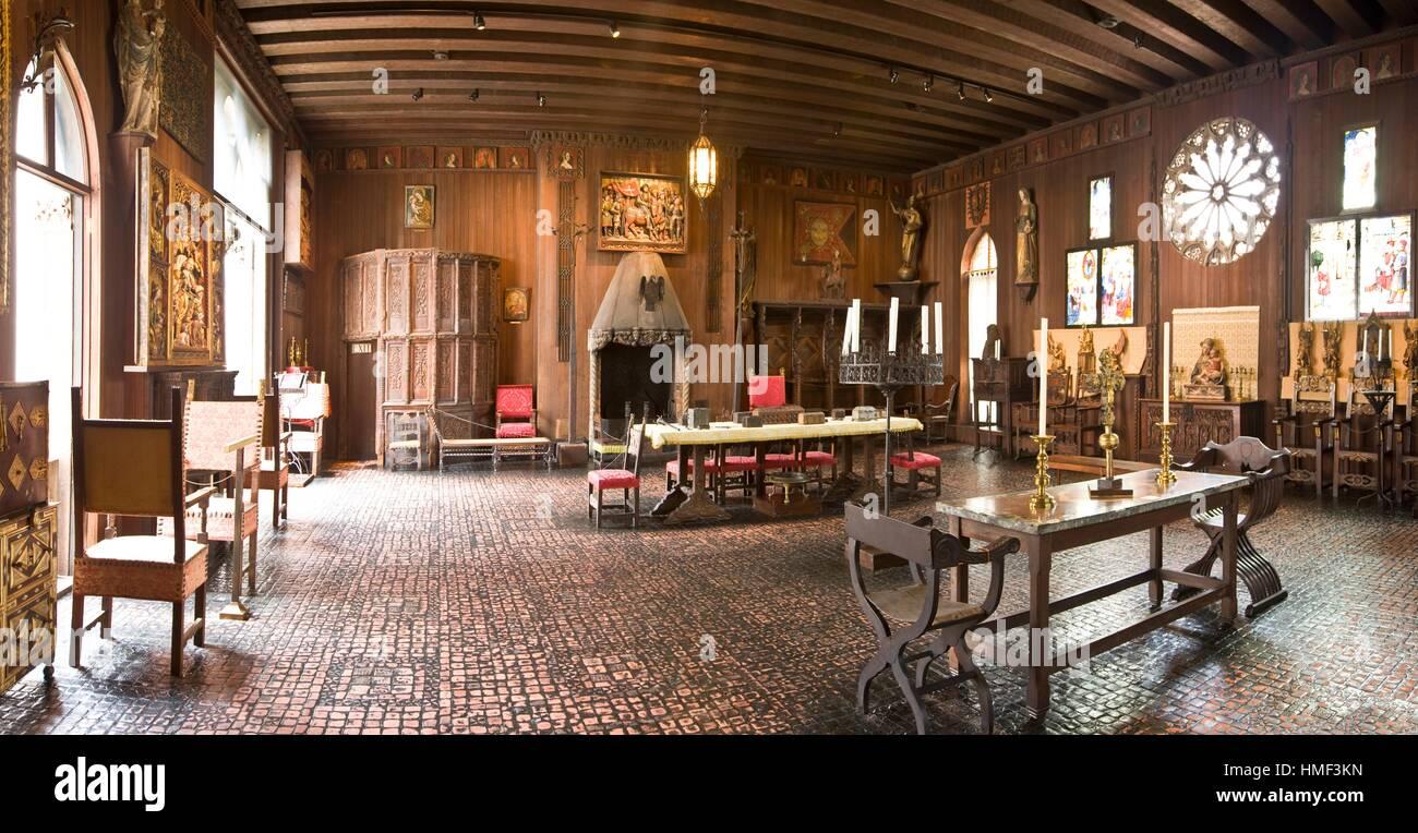 Isabella Stewart Gardner Museum The Gothic Room Boston Stock Photo 133097881 Alamy