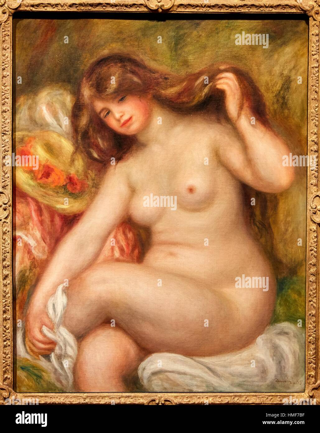 '''Great Bather'', 1905, Pierre-Auguste Renoir - Stock Image