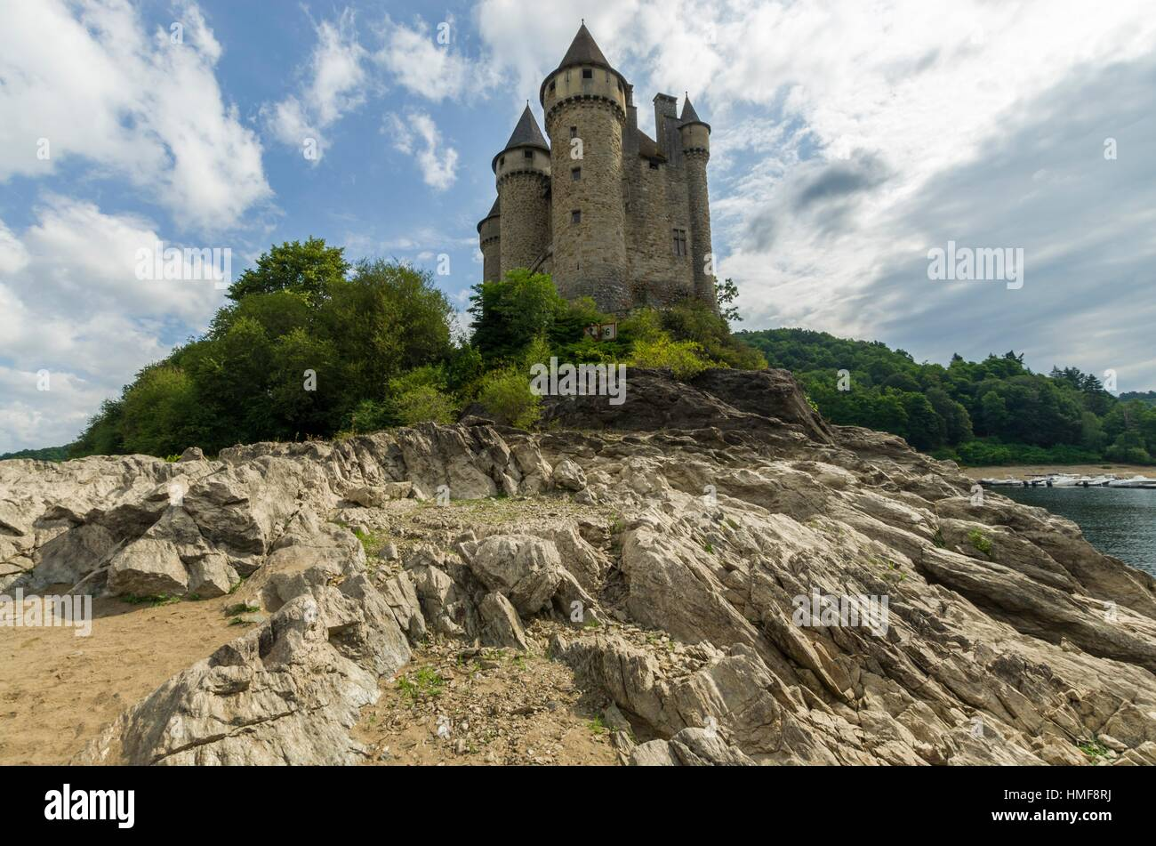 Val Castle  Cantal  Pays D U00b4artense  Auvergne-rh U00f4ne-alpes  France Stock Photo  133101910