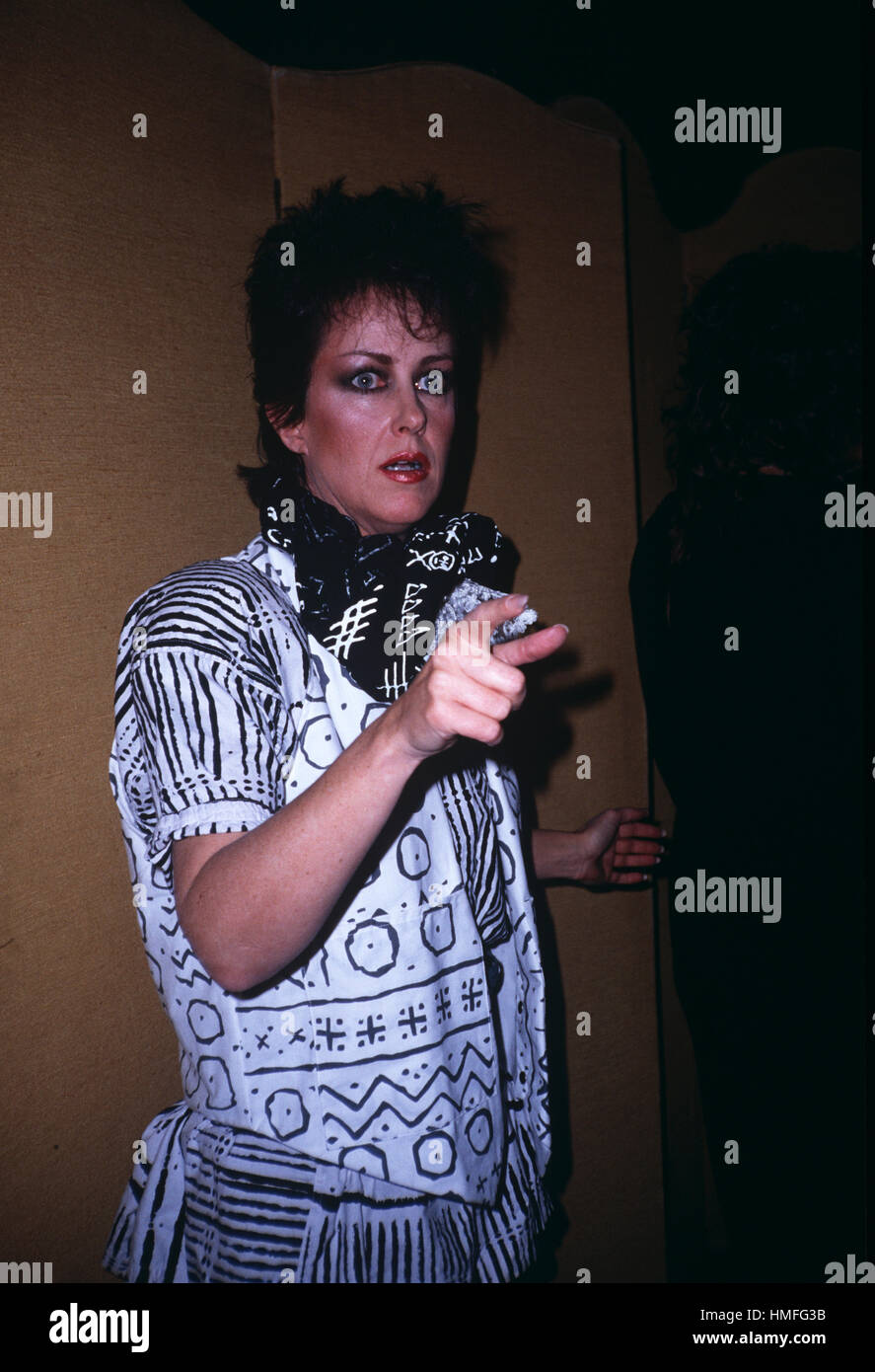 American singer and songwriter Grace Slick - Stock Image