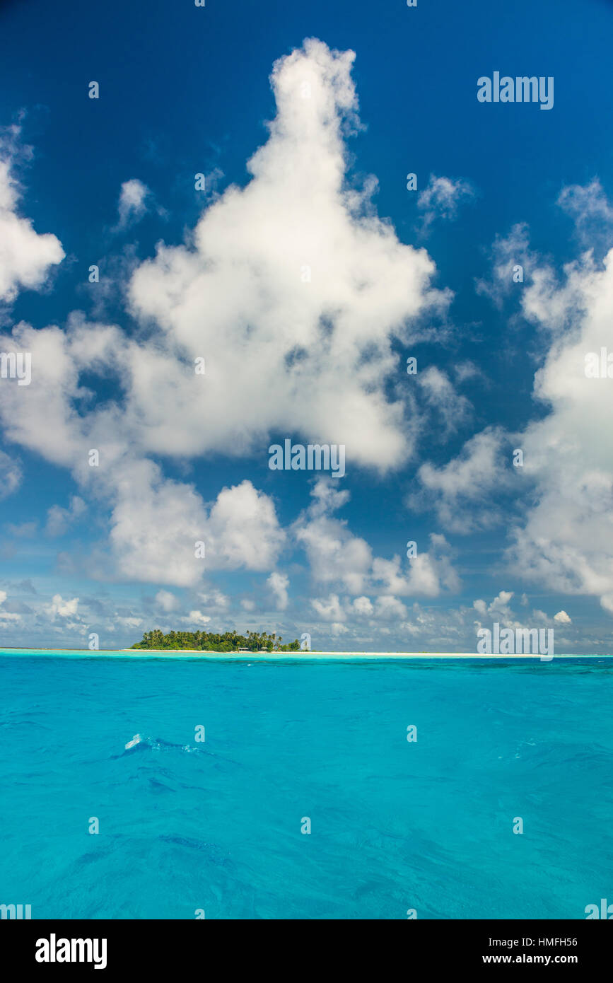 Lagoon of Wallis, Wallis and Futuna, Pacific - Stock Image