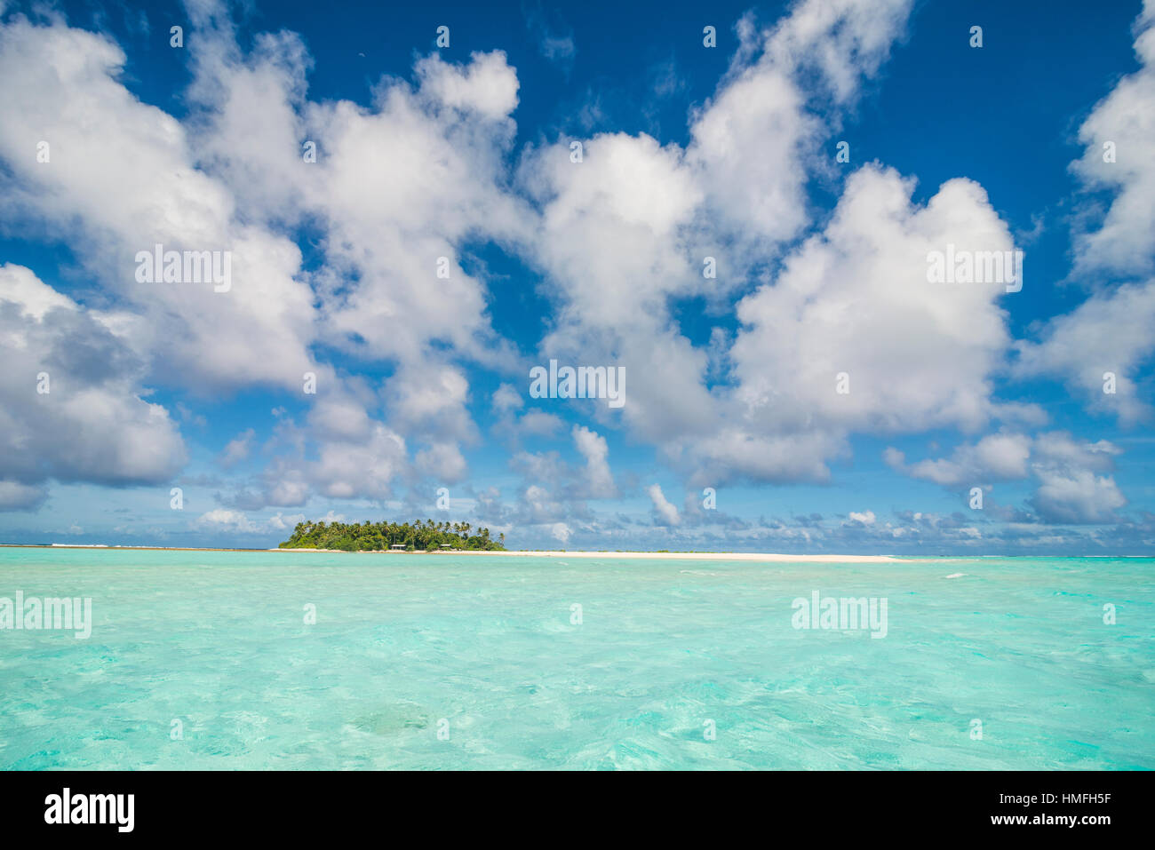 Lagoon of Wallis, Wallis and Futuna, Pacific Stock Photo
