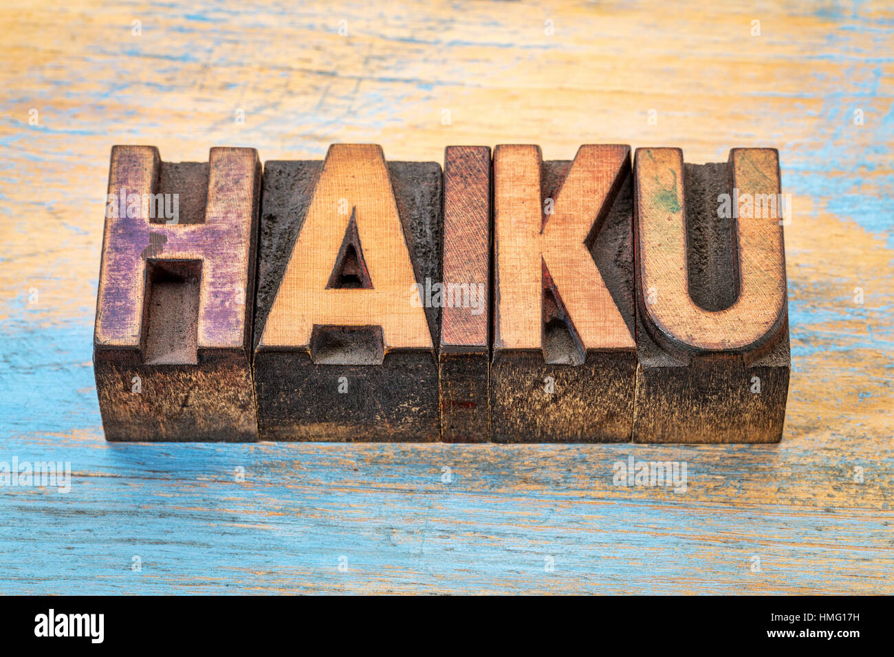 haiku a very short form of japanese poetry word abstract in