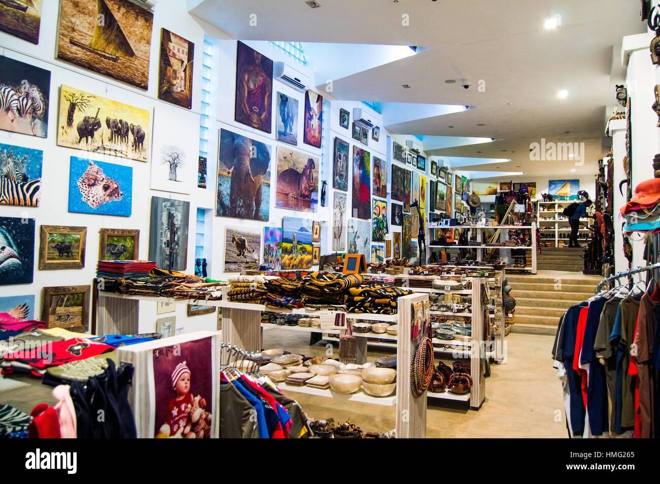 Art And Craft Shop Interior Hotel Slipway Dar Es Salaam Tanzania
