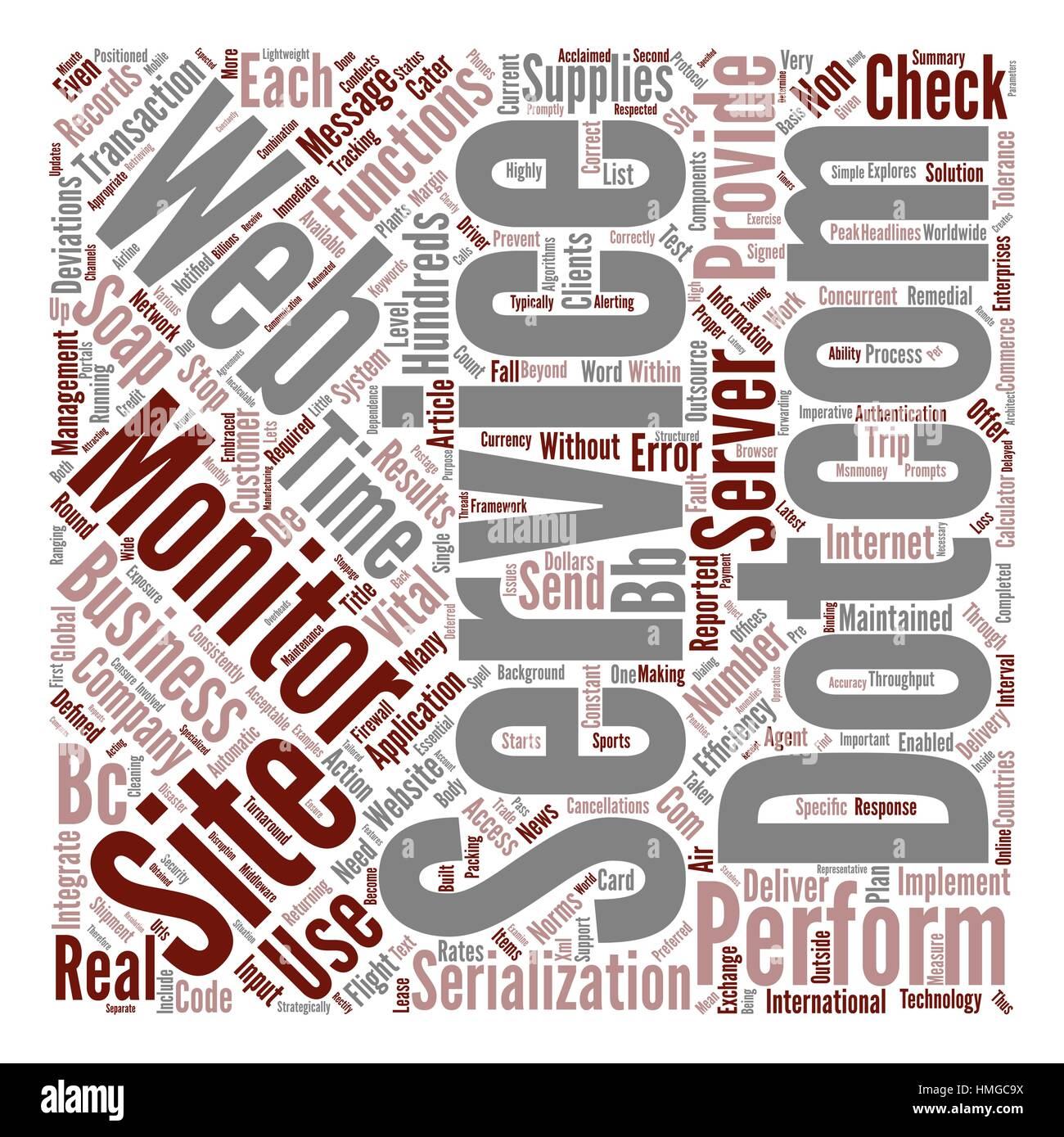 Dow Turns Moderately Bearish Word Cloud Concept Text Background - Stock Image