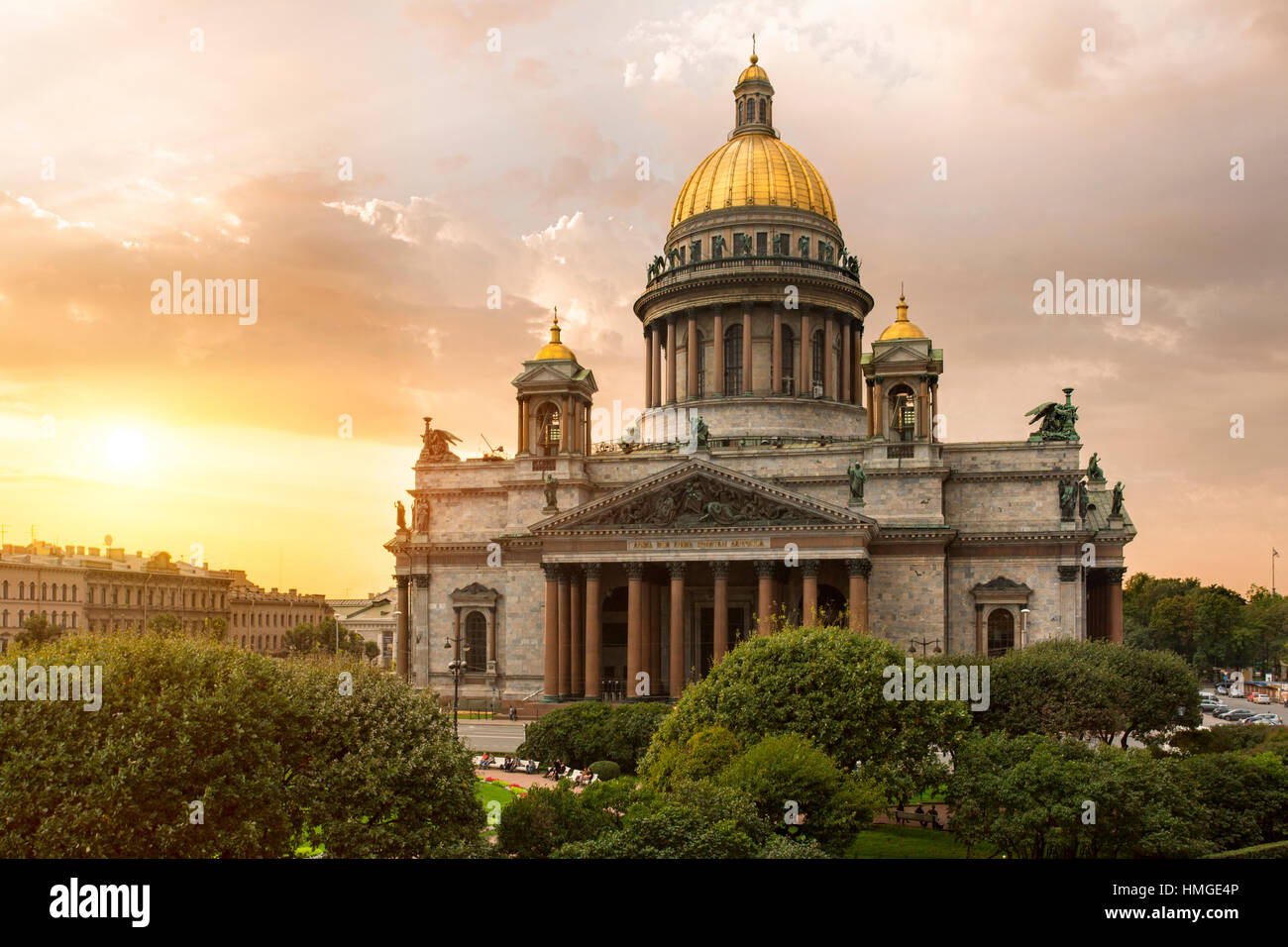 St; Petersburg, St. Isaacs Cathedral Stock Photo
