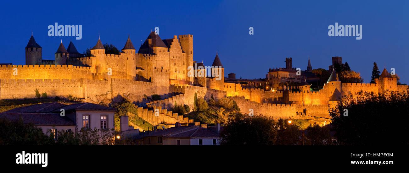 Europe, France, Aude, city of Carcassonne, Stock Photo