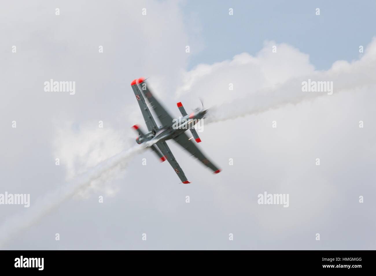 Polish Air Force Orlik Aerobatic Team - Stock Image