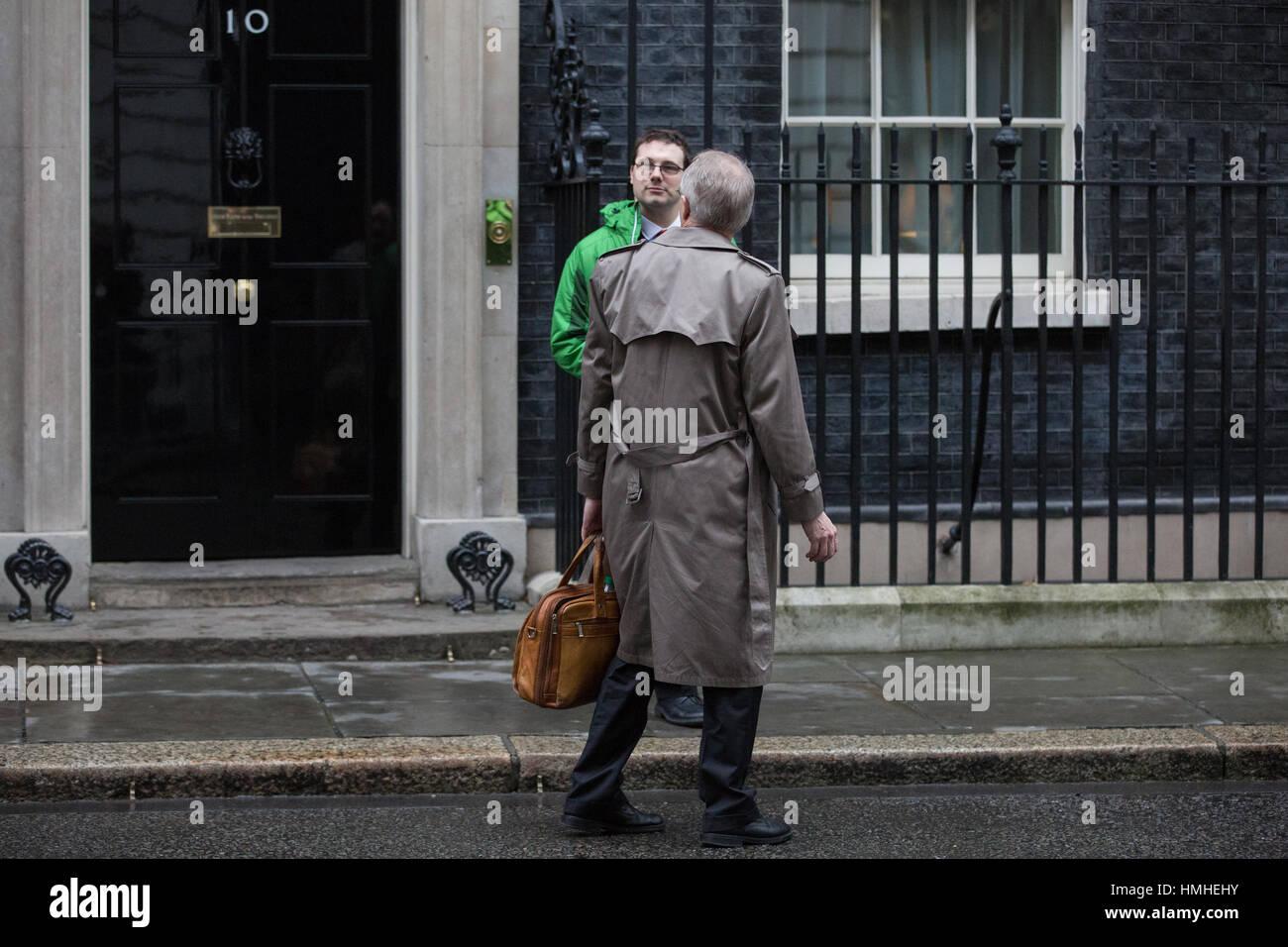 London, UK. 31st January, 2017. Myron Ebell, who led President Trump's Environmental Protection Agency transition Stock Photo