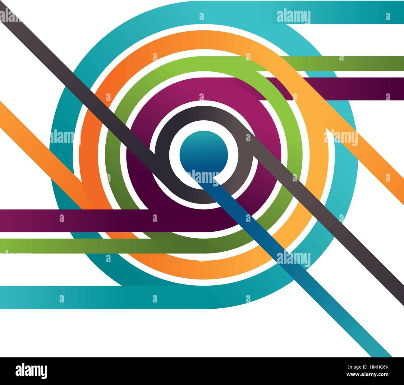 Background of varied colors vector illustration design - Stock Image
