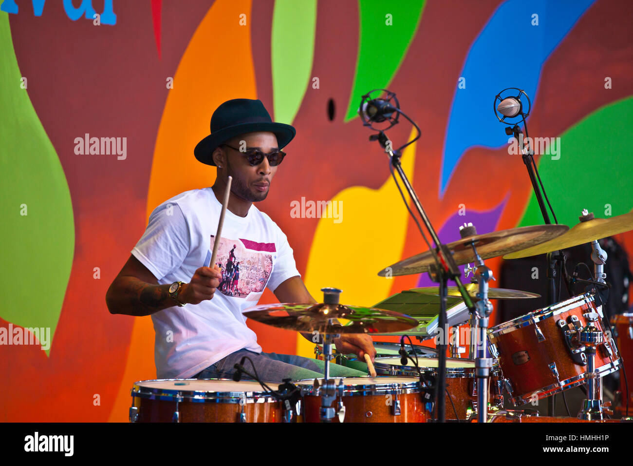 BRENTON TARON LOCKETT plays drums for CORY HENRY and the
