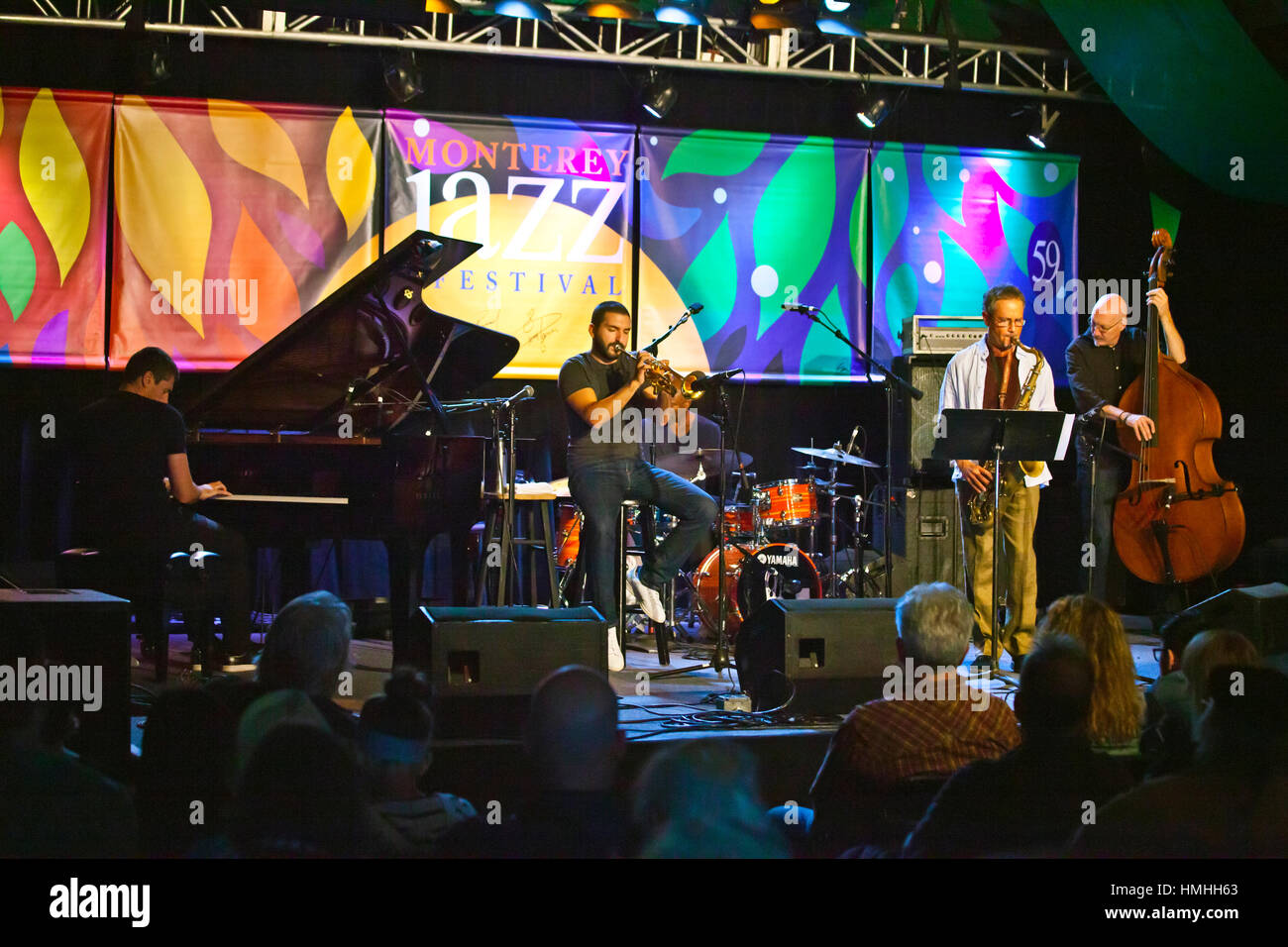 IBRAHIM MAALOUF performing at the 59th Monterey Jazz