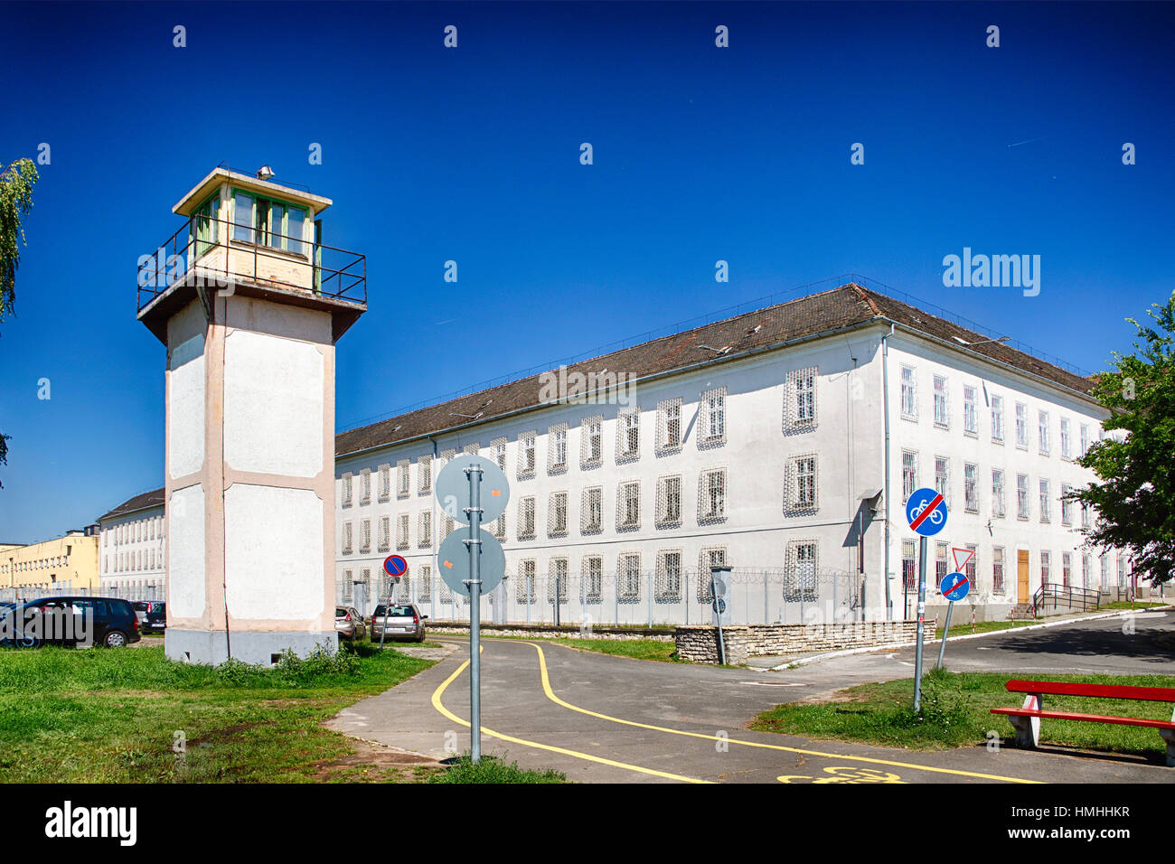 State Penitentiary, Vac, Pest County, Hungary - Stock Image