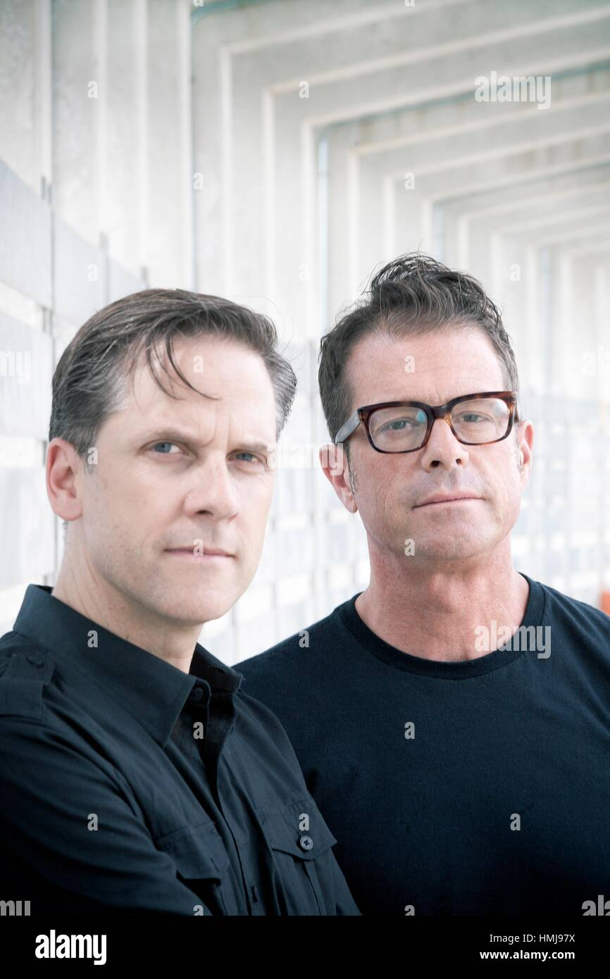 Calexico. American musical group. Madrid. 2014. - Stock Image