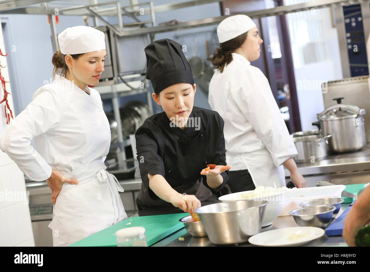 Restaurant Kitchen Chefs
