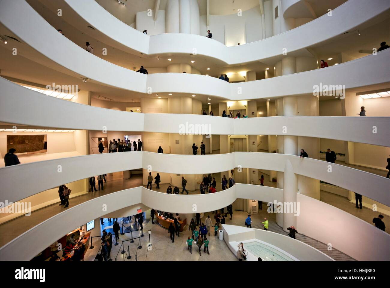 Interior Guggenheim Museum In New Stock Photos   Interior Guggenheim ... efbd2de625ae