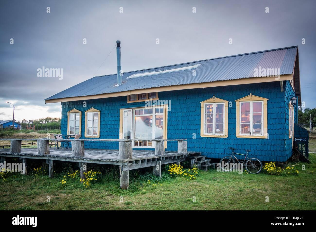 archipiélago de Chiloé ,provincia de Chiloé ,región de Los Lagos,Patagonia, República de Chile,América del Sur. Stock Photo