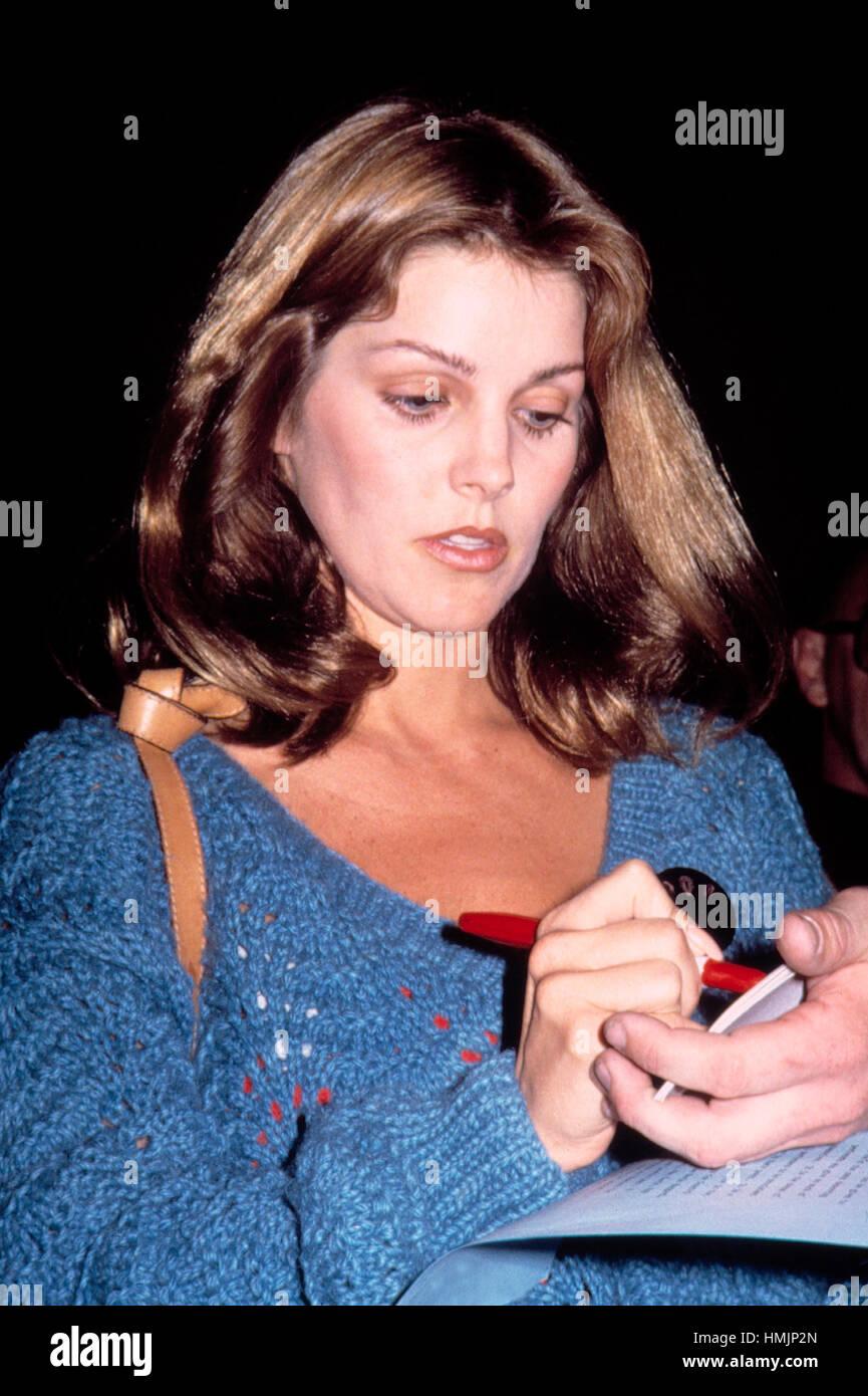 Priscilla Presley in 1979. - Stock Image