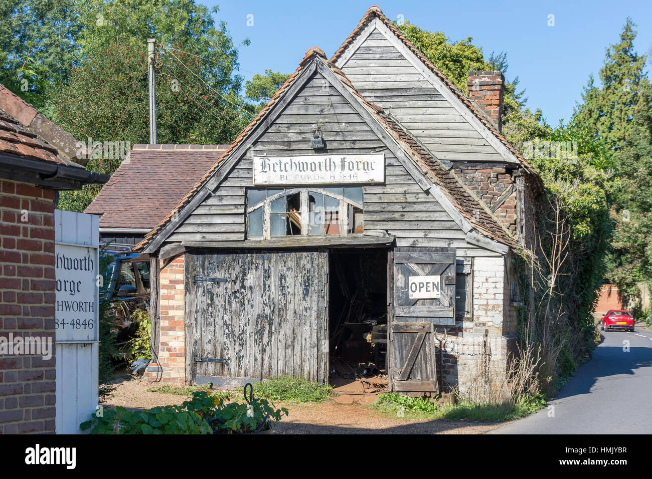Betchworth Forge, The Street, Betchworth, Surrey, England, United Kingdom - Stock Image