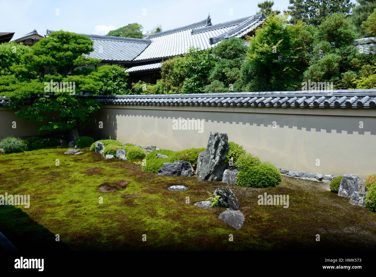 Ryogen-in Temple, Daitoku-ji, Kyoto,Japan. - Stock Image