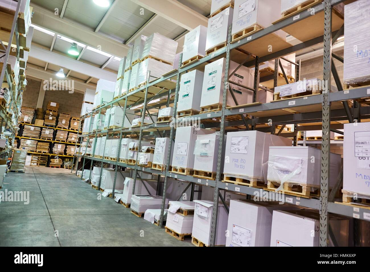 press printing paper warehouse stock photo 133188238 alamy