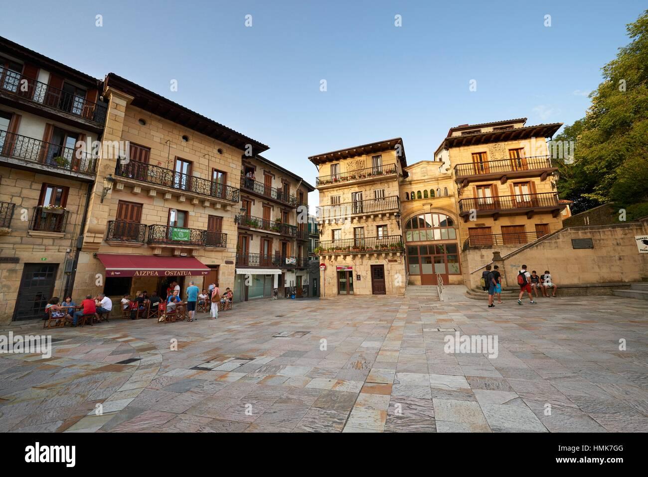 Lezo, Guipuzkoa, Basque Country, Euskadi, Euskal Herria, Spain, Europe. - Stock Image