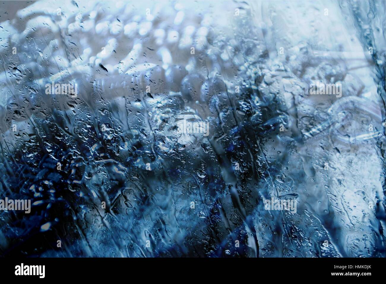 Bracelets Behind Wetness - Stock Image