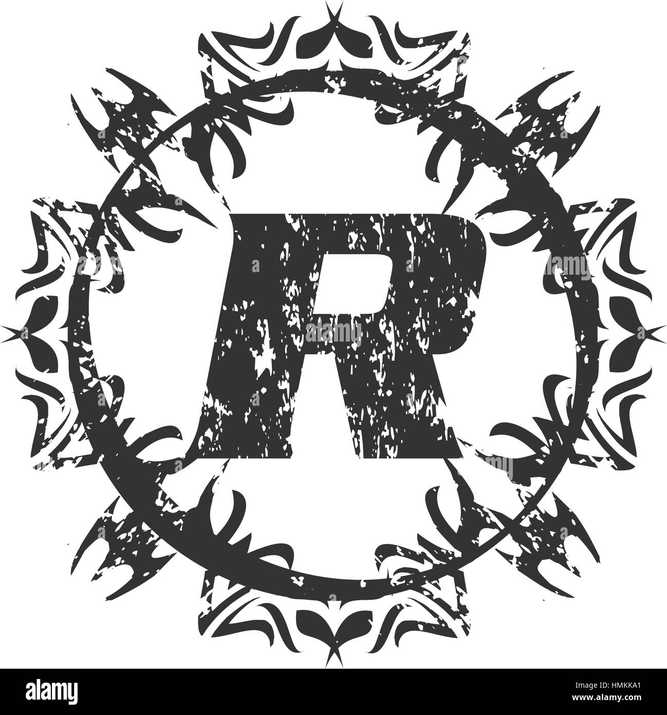 letter r black and white stock photos & images - alamy