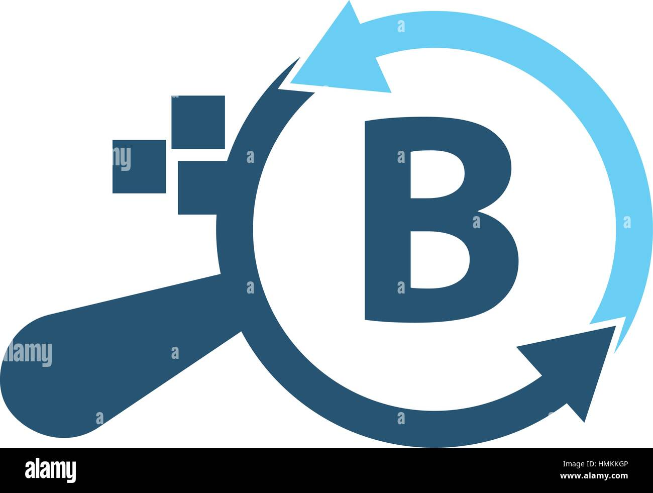 B Stock Solutions solutions apps searching initial b stock vector art