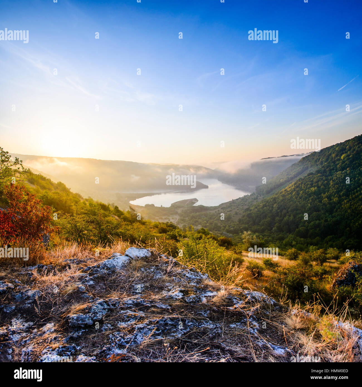 Mountain beautiful landscape - Stock Image