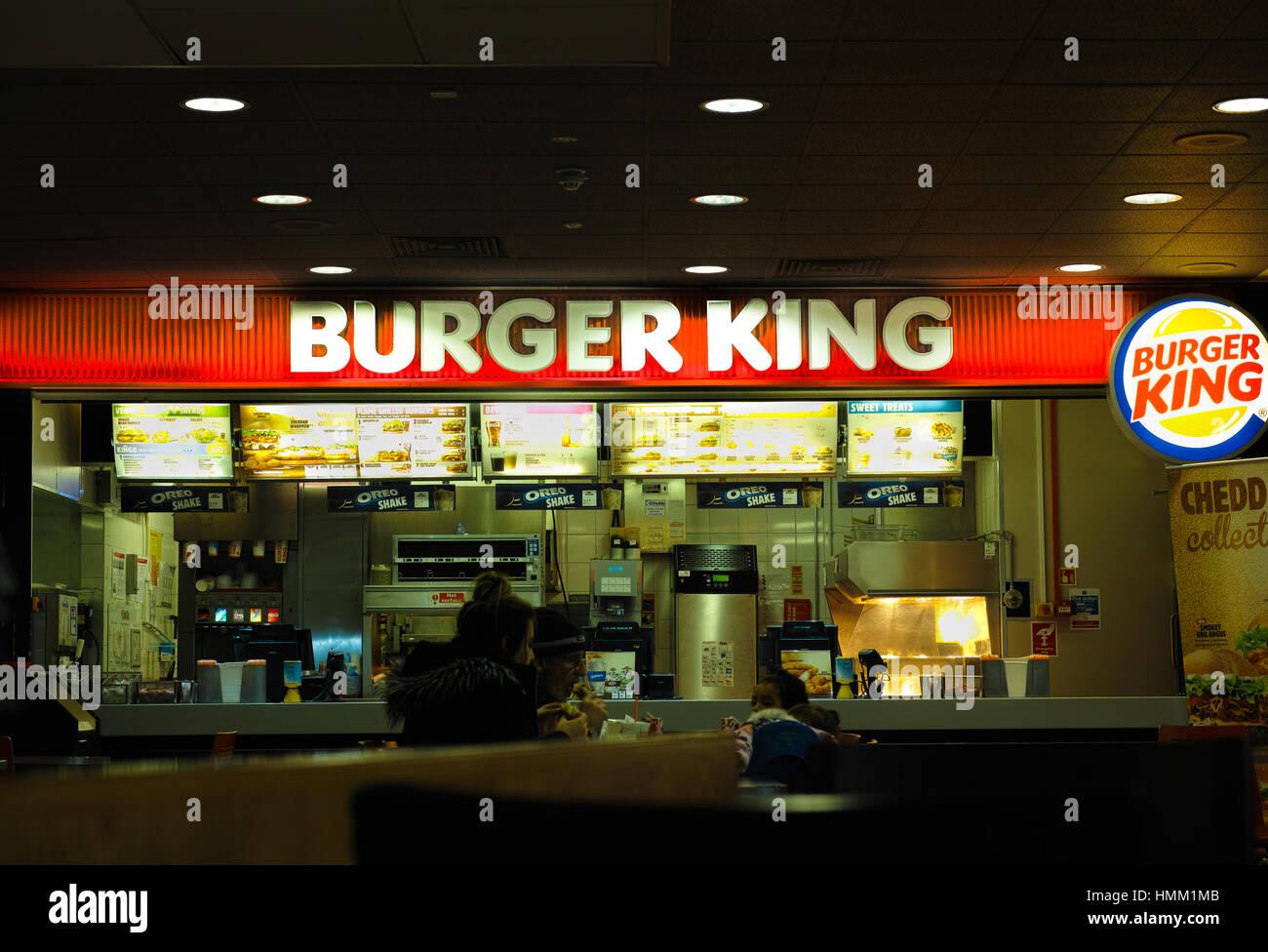 Burger King - Stock Image