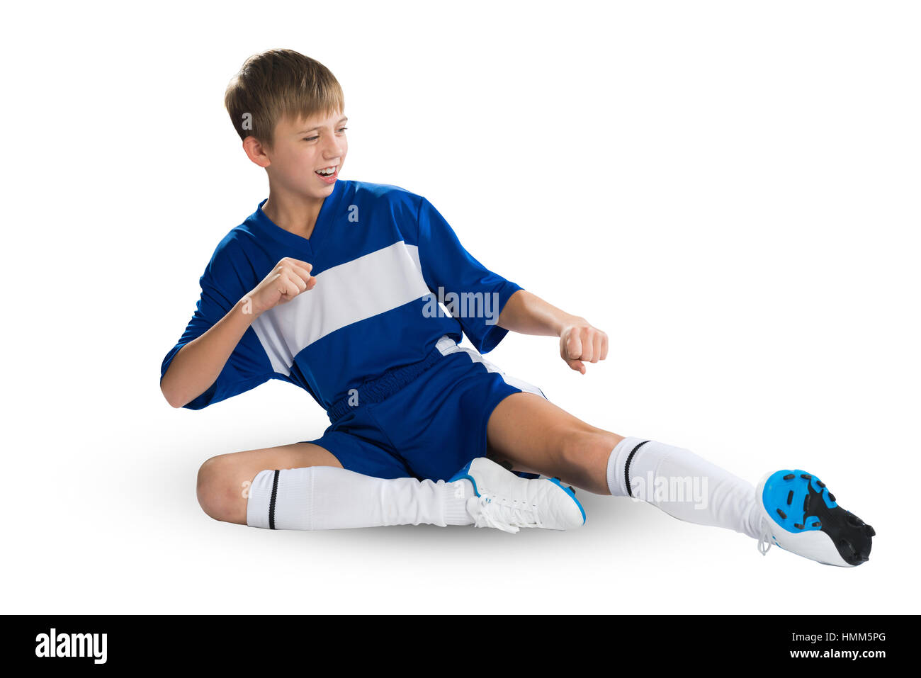 Young footballer - Stock Image