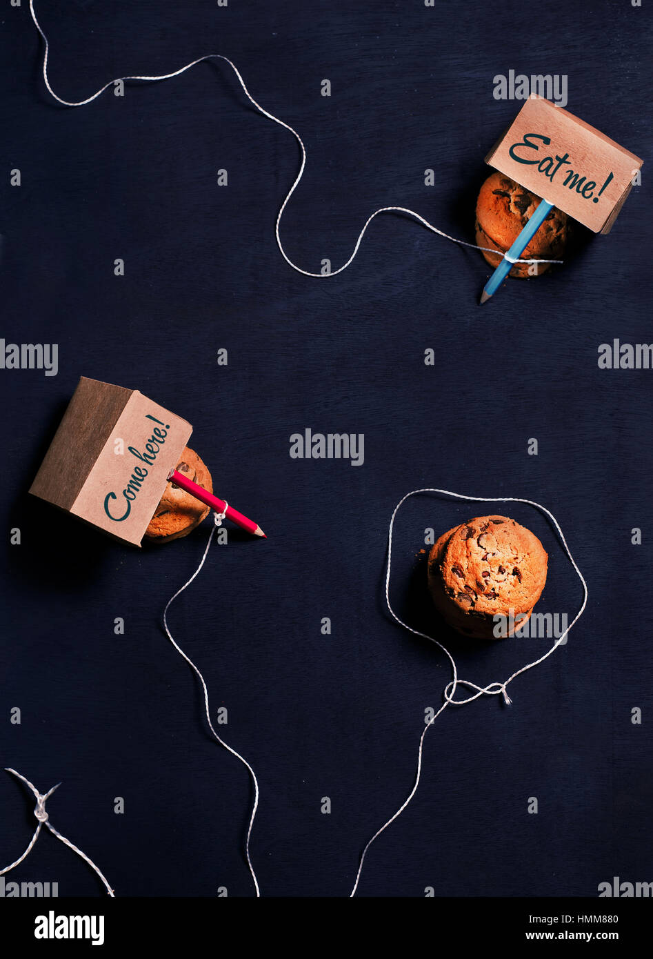 Sweet Tooth Treat: Cookie Trap - Stock Image