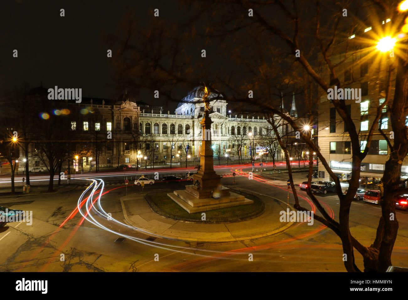 Universität Wien - University of Vienna - Stock Image