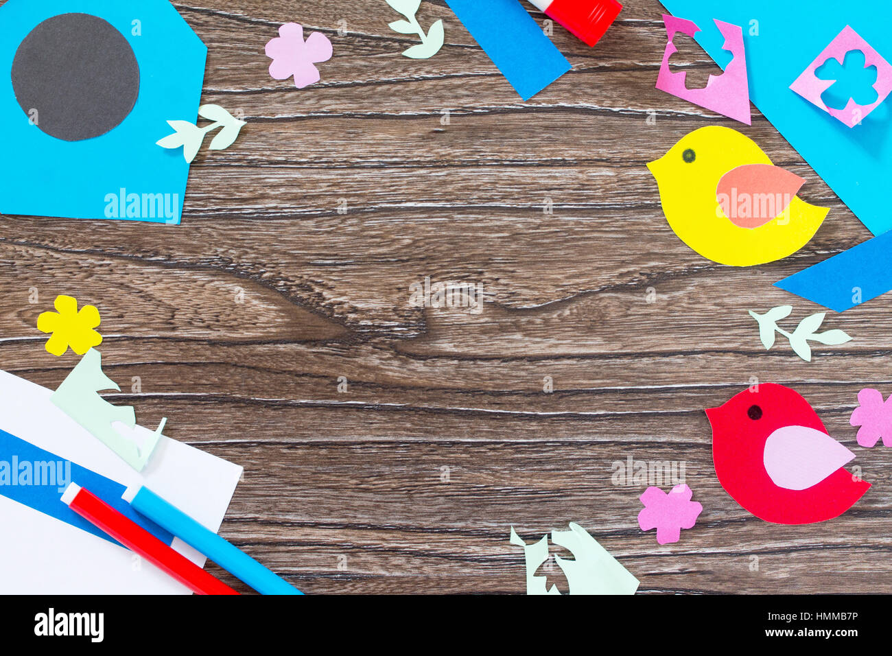 spring background two birds and a birdhouse craft for kids copy stock photo alamy https www alamy com stock photo spring background two birds and a birdhouse craft for kids copy space 133213578 html