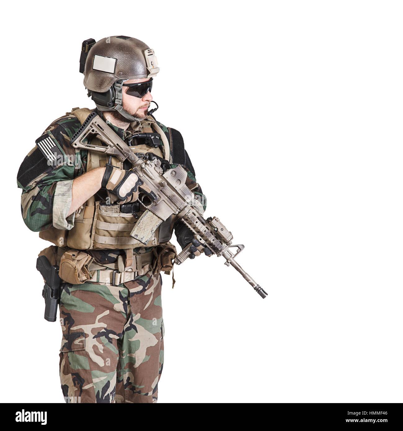 Marine Special Operator - Stock Image