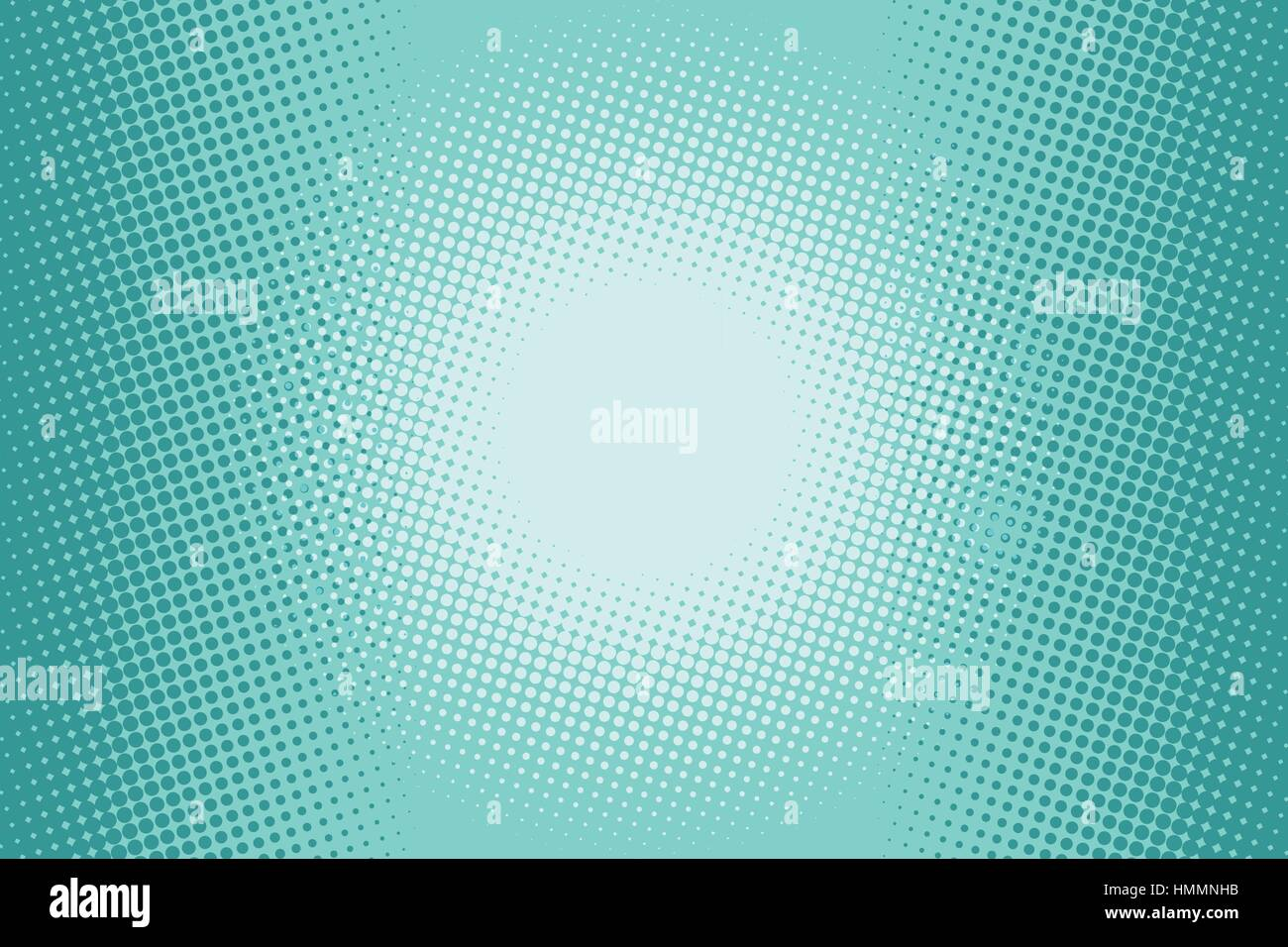 Green halftone comic background Stock Vector Art