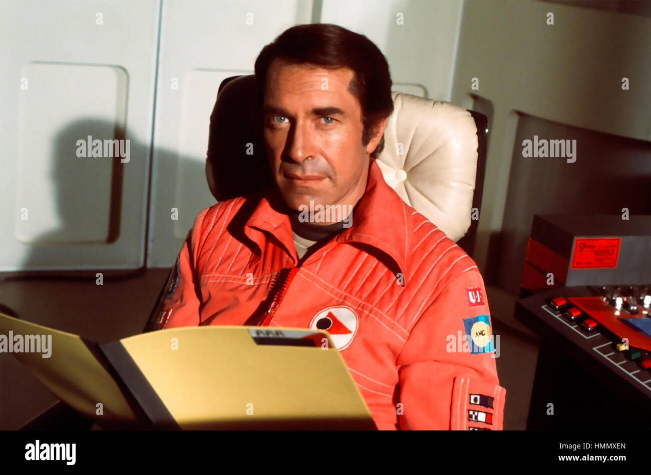 SPACE 1999  ITC/ITV sci-fio TV series 1975-1977 with Martin Landau - Stock Image