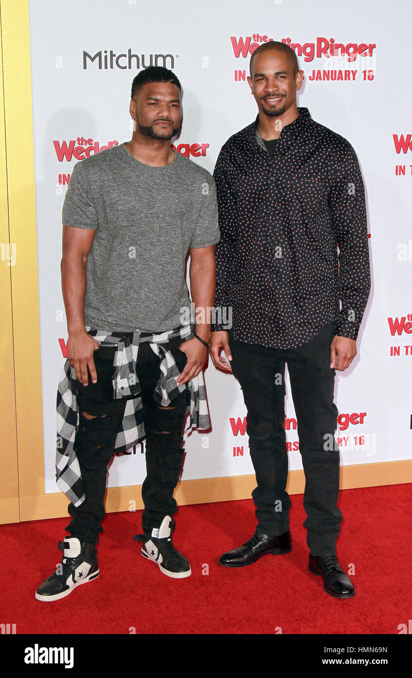 Damon Wayans Jr And Damien Wayans High Resolution Stock Photography And Images Alamy