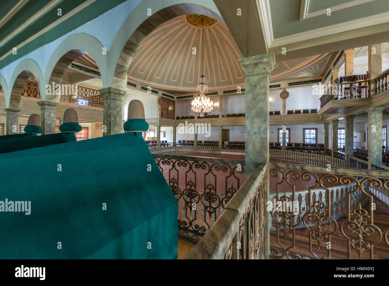 Yenikapi Mevlevi Lodge ,Zeytinburnu,Istanbul,Turkey Stock Photo