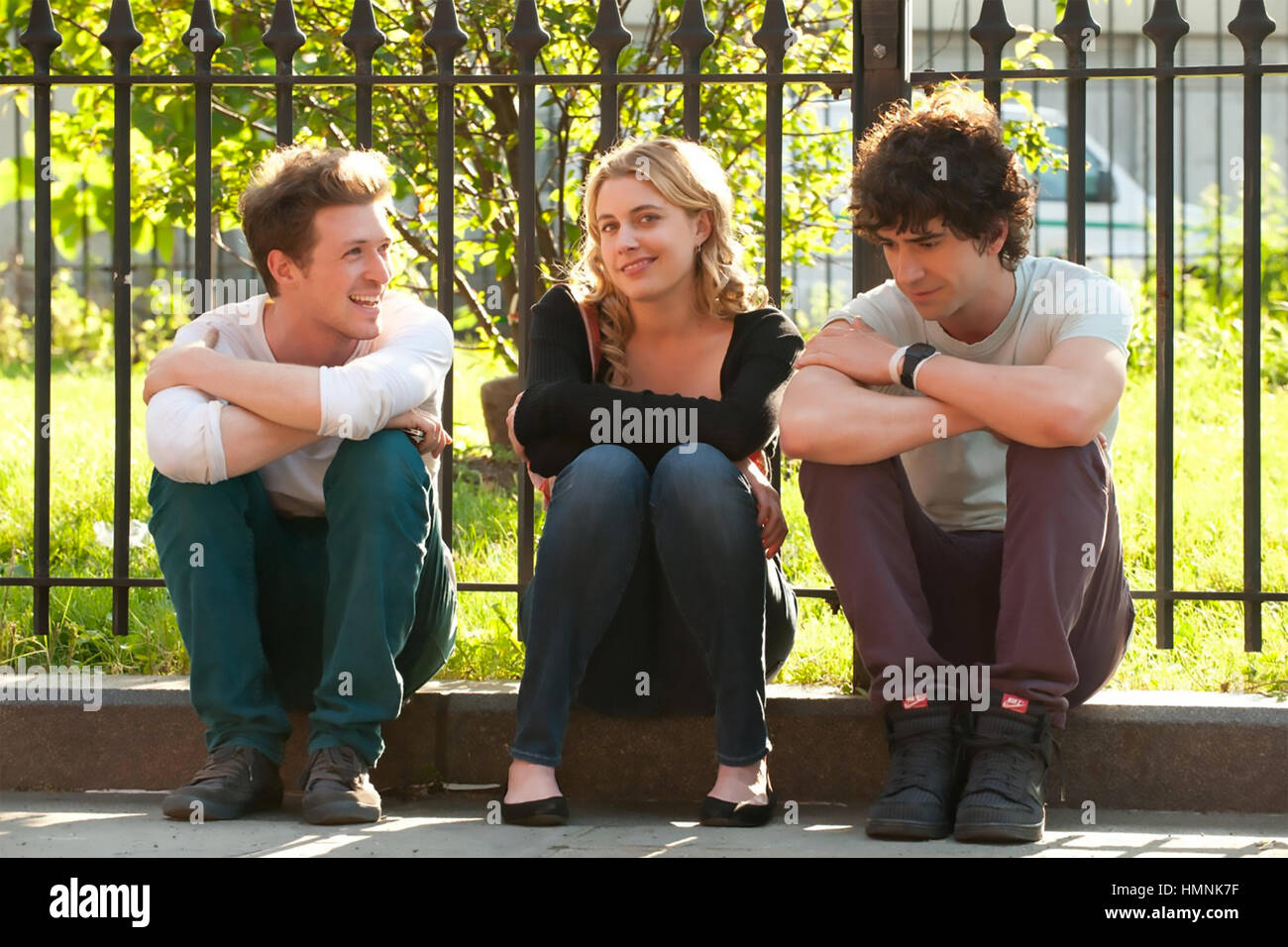 LOLA VERSUS 2012 Groundswell productions films with Greta Gerwig - Stock Image